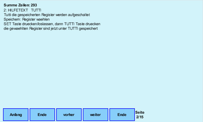 Display-Hilfe-Tutti