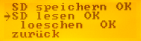 MenueSystem-SDLesen