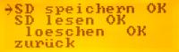 MenueSystem-SDspeichern