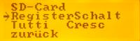 MenueSystem-Schalter